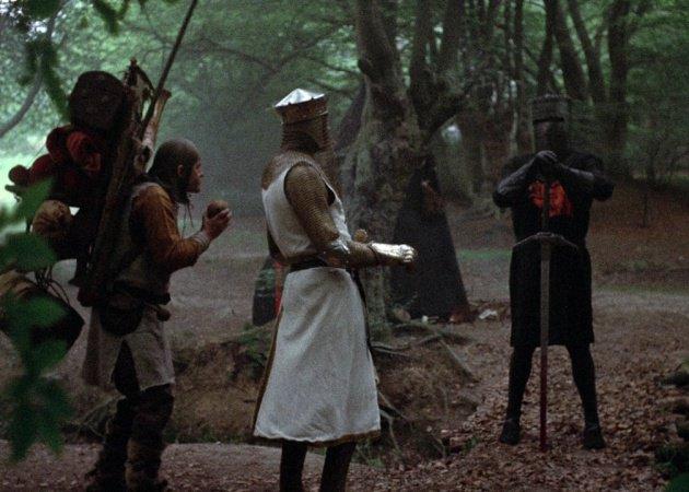 39 los caballeros de la mesa cuadrada 39 en 10 escenas m ticas for Caballeros de la mesa cuadrada