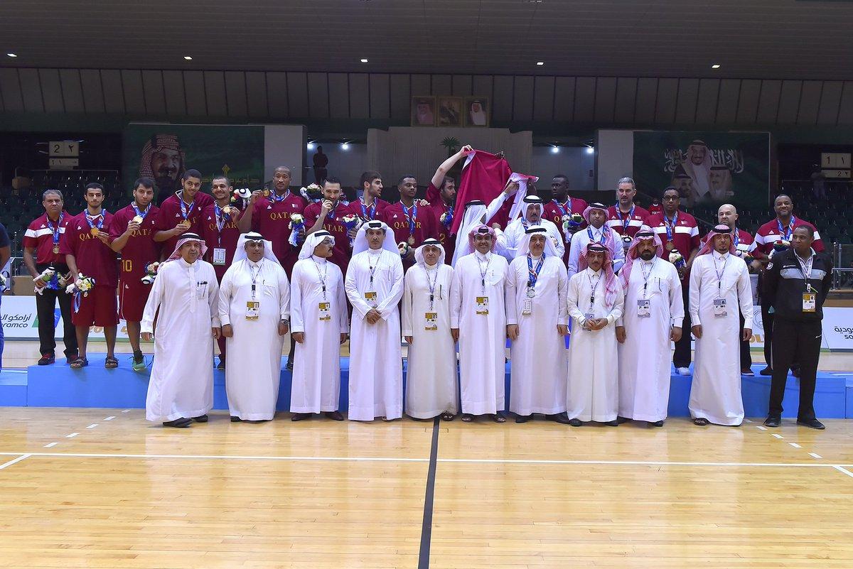 المنتخب القطري يتوج بذهبية السلة بدورة الألعاب الخليجية