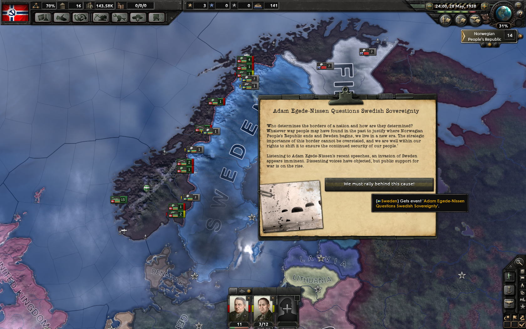 HoI Dynamic Country Names Paradox Interactive Forums - Norway map game