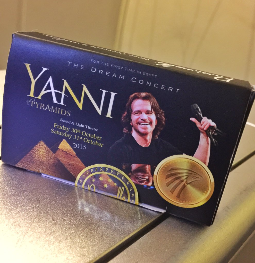 Amazing what you find on an Egypt Air flight. Homemade Yanni chocolates. https://t.co/R90ShY3Opb