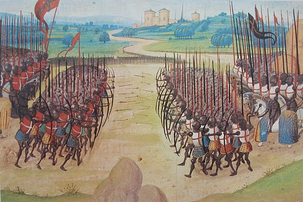 "Happy 600th anniversary of Battle of Agincourt! ""We few, we happy few, we band of brothers"" #HenryV #Agincourt600 https://t.co/yLMKLJP1tc"