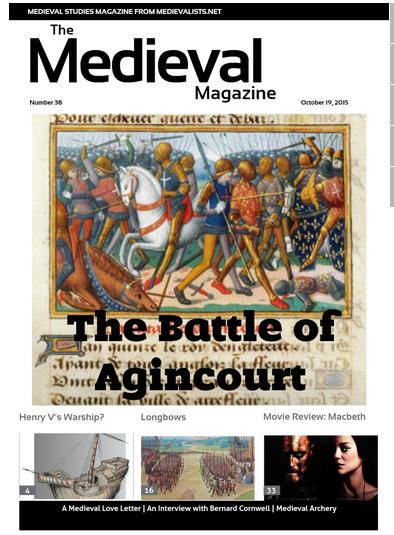 The Medieval Magazine No.38 https://t.co/ZiTCAGb5li #Agincourt600 https://t.co/m5Cb23s1go