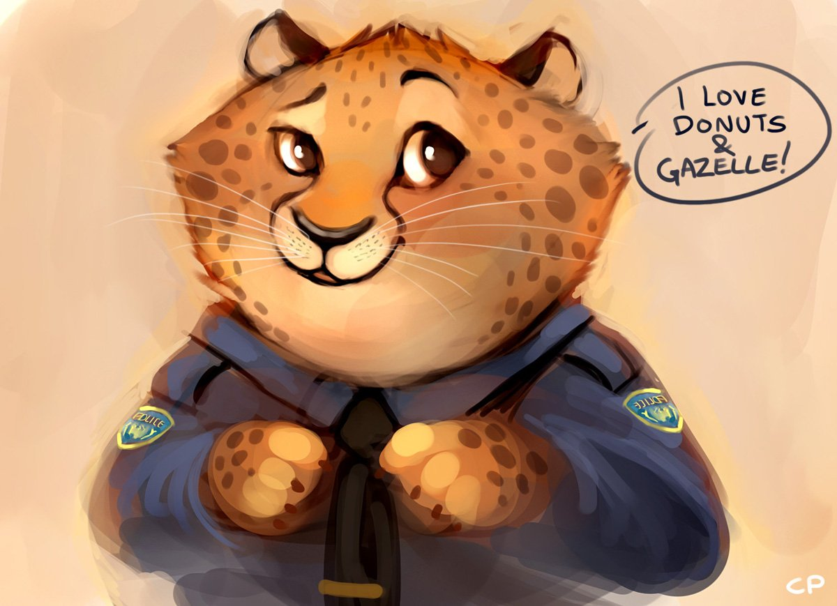 Зверополис картинки леопарда