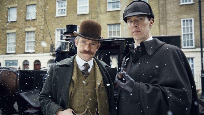 BBCニュース - 「シャーロック」スペシャルを英米で元日放送、劇場でも上映