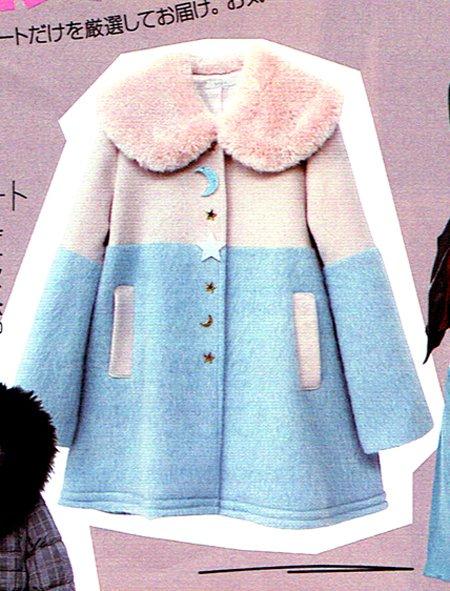from PRESS ROOM. ViVi 12月号にてMILK・MILKBOYのコートが連載されました。 Twinkleコート ¥ 50,800-、CREATURES COAT ¥42,400-(税抜)