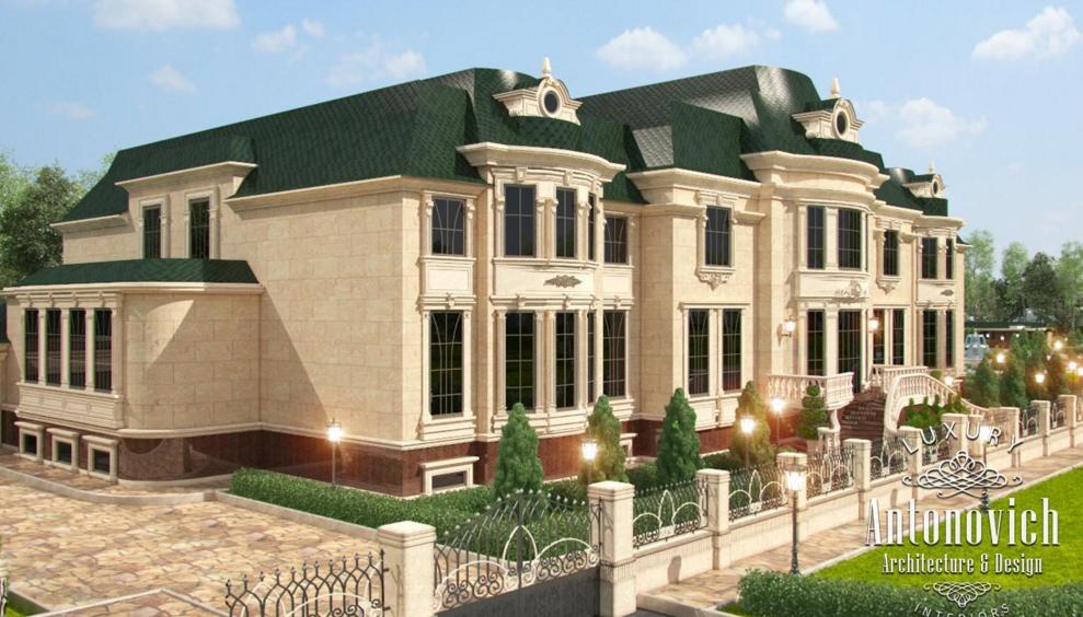 Antonovich design ae on twitter villas exterior design in qatar for Exterior home design consultant