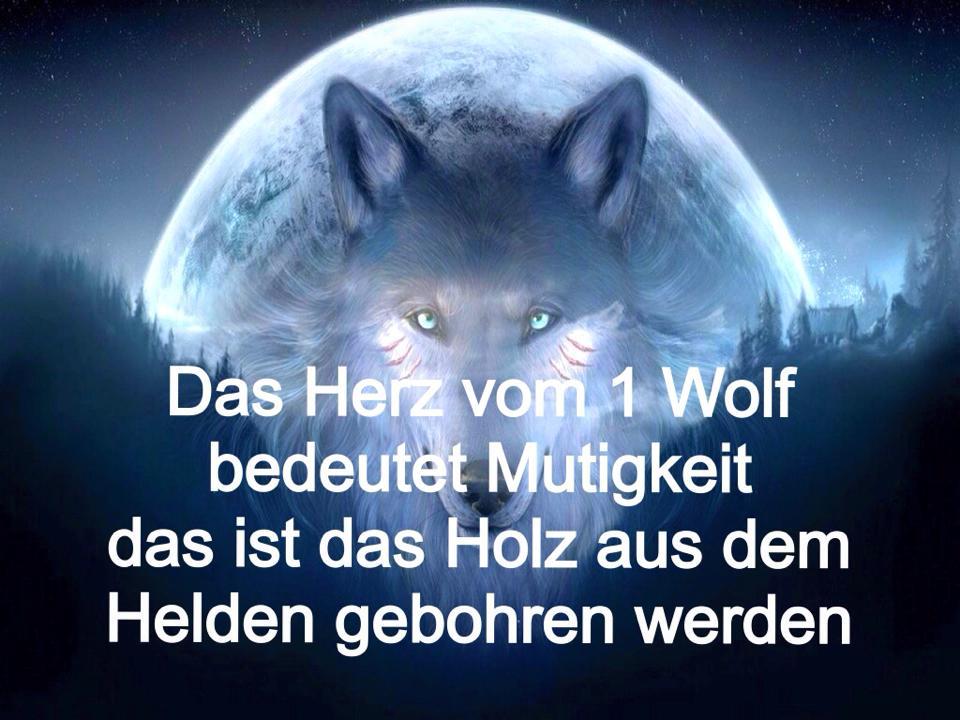 Sprüche Mit Bilder On Twitter Das Herz Vom 1 Wolf Https