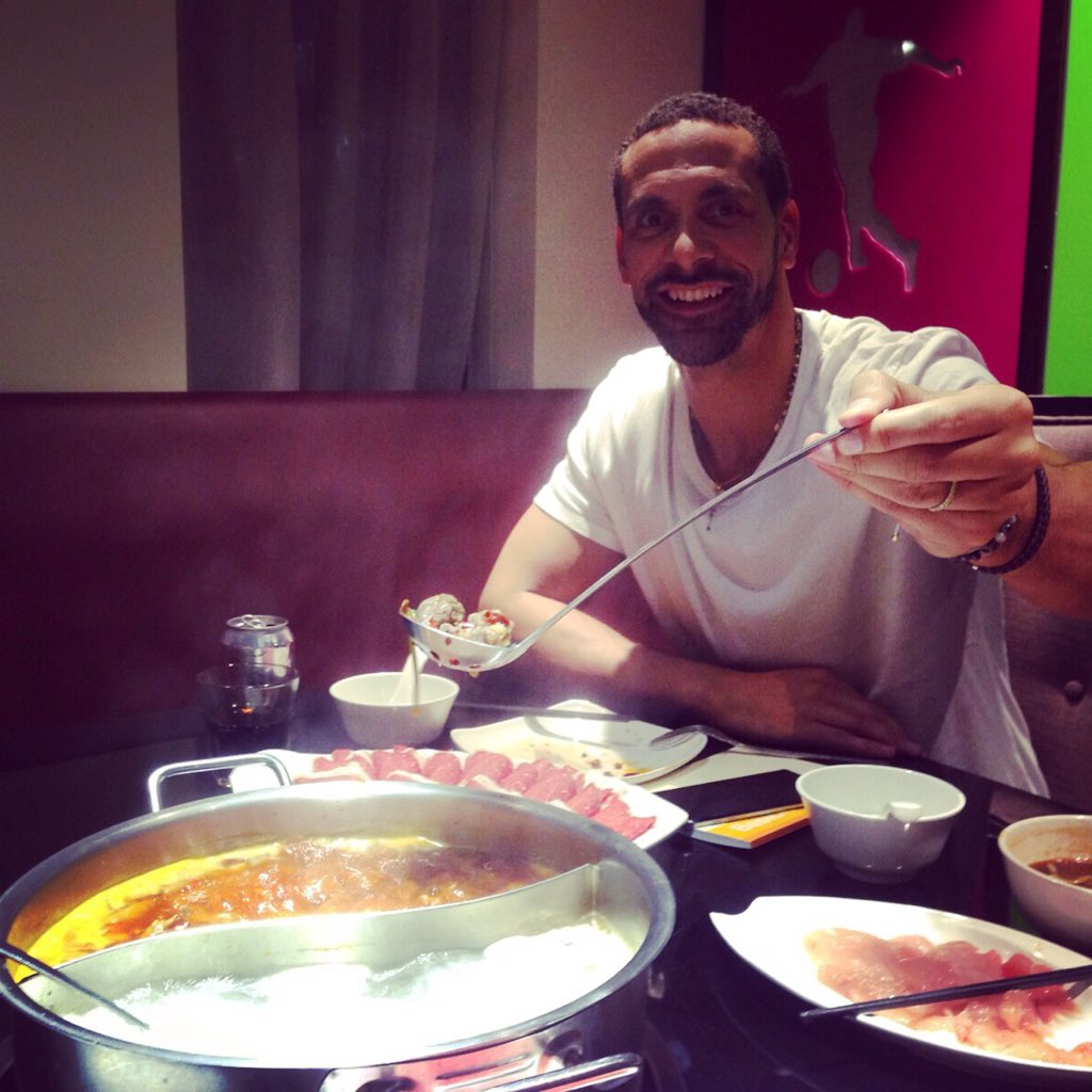 Destroying this Chinese hot pot!!!!! #RioInChina https://t.co/aE9PsAsRSa