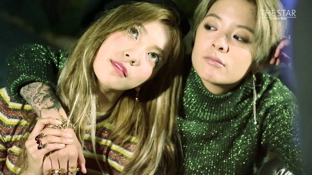Amber Luna Amber Luna Close Star Photoshoot Allkpop Scoopnest