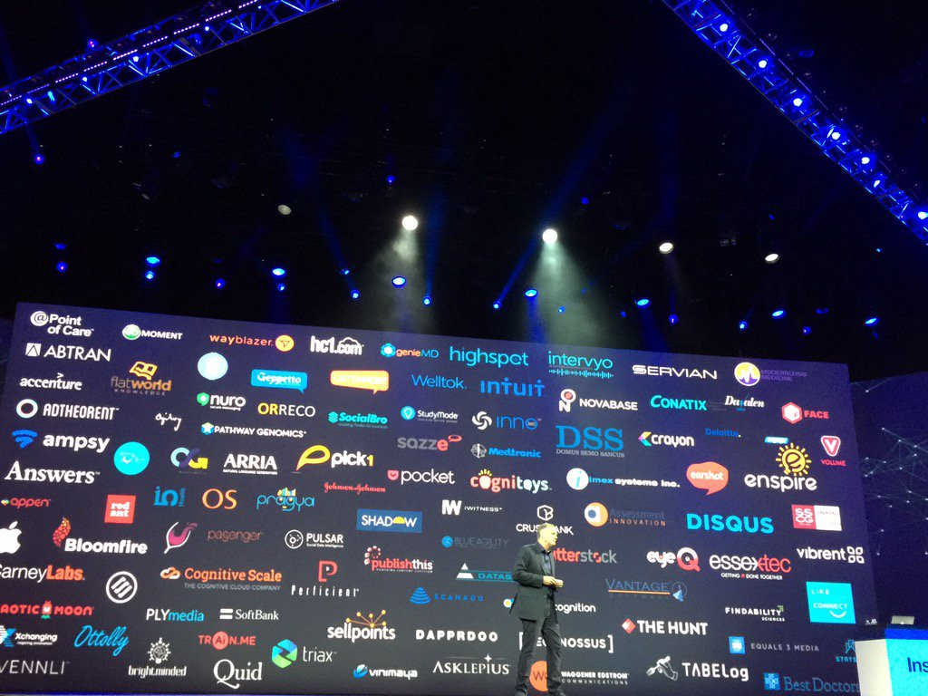 MyPoV: @IBMWatson has done a great job building industry specific partnerships in consumer & enterprise #ibminsight https://t.co/VNoosuDXqx