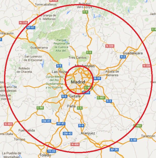 ¿Madrid es Madrid, o son también los sitios que están a una hora y pico de Madrid? https://t.co/YQSvuiVkej
