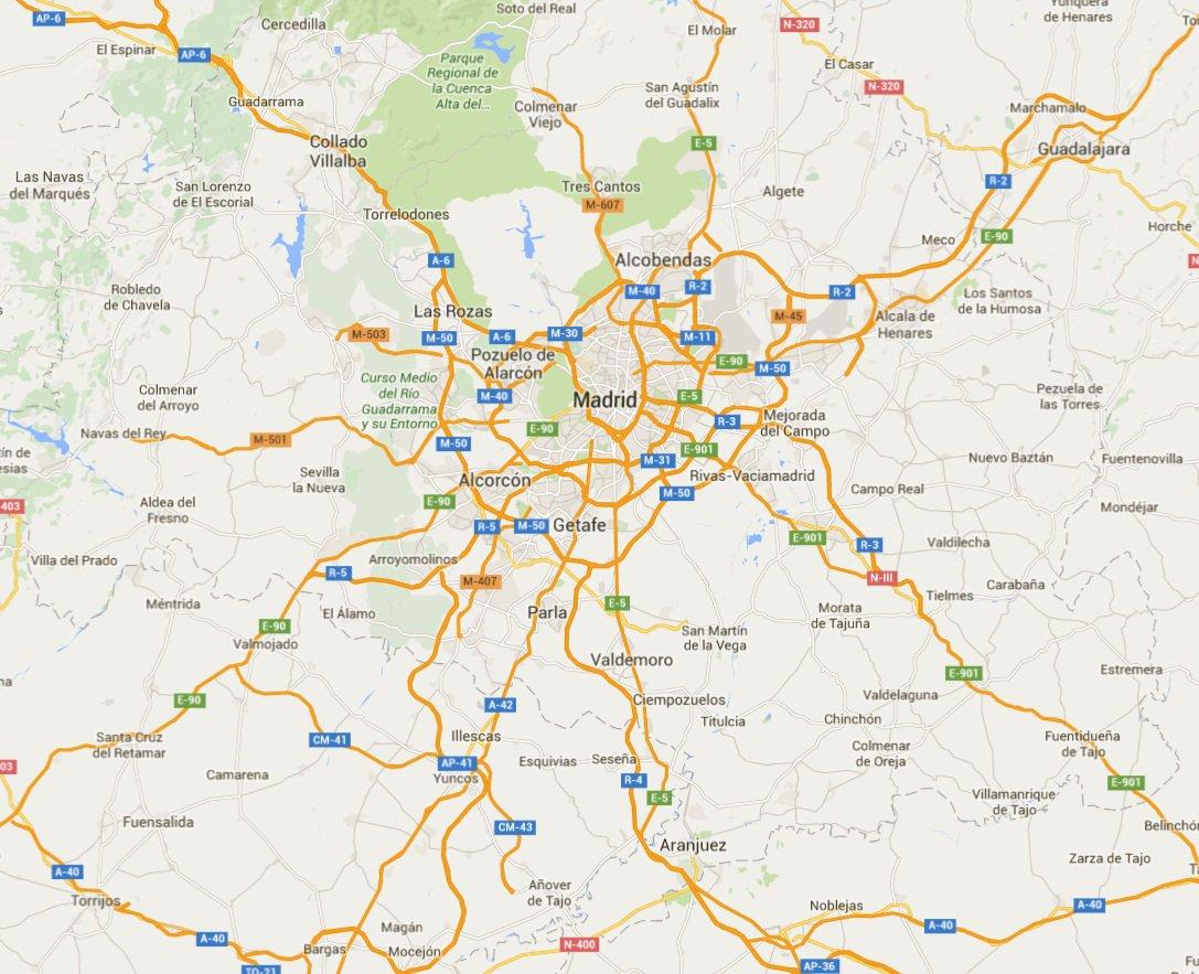 La metrópolis de Madrid tiene 650 km de autopista, la que más en Europa (por población y por superficie) https://t.co/8VtILfsb52