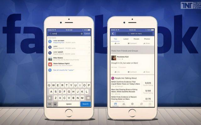 Facebook cambia ancora e con Search FYI crea un nuovo modo d'uso.