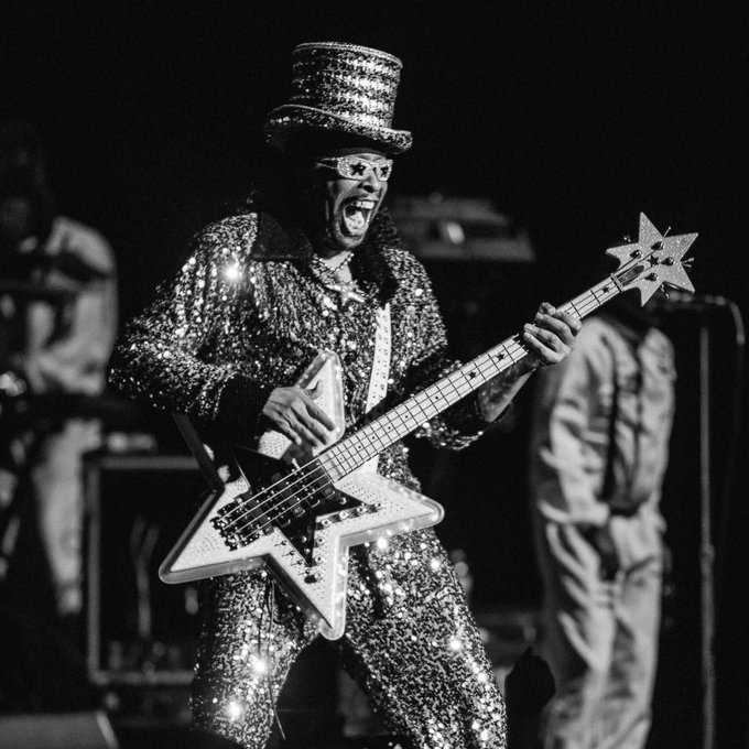 Happy birthday Bootsy (