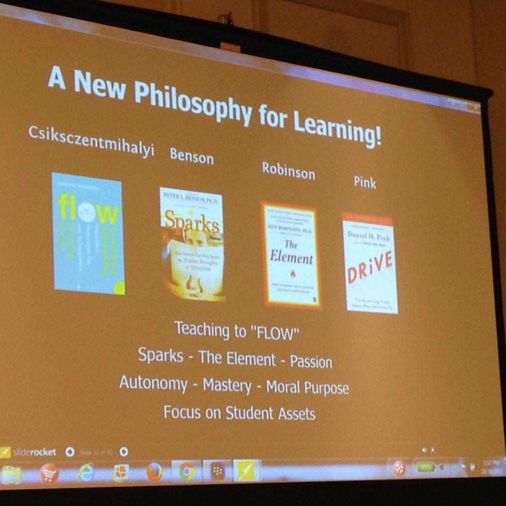 Some books on learning recommended by @jeffstewart71 #blended2015 https://t.co/rWll1lXKRl