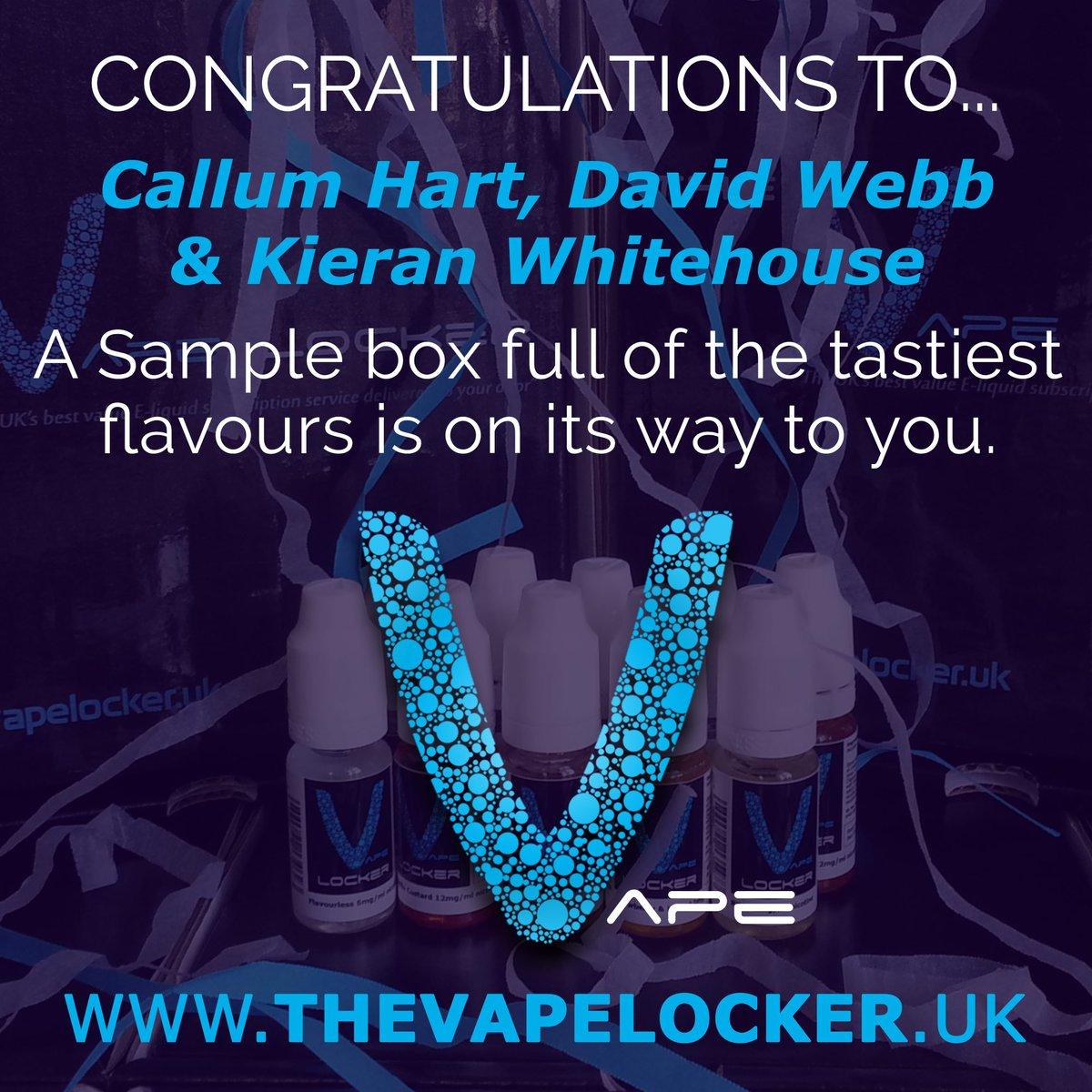 The Vape Locker At Vapelockeruk Twitter