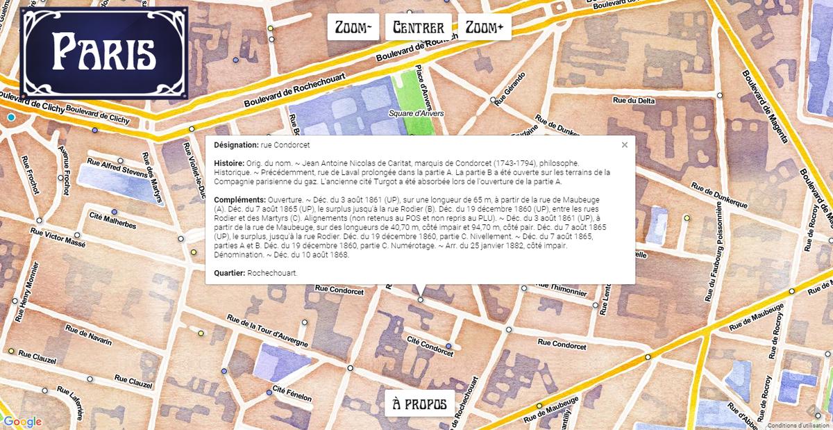 Paristique : histoire des rues de #Paris https://t.co/dMzf0uPyXZ | Source #opendata https://t.co/8QcpOx6CDW https://t.co/n5jPtPLbWk
