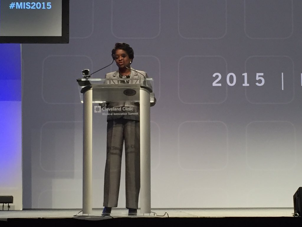 @MClyburnFCC Commissioner: improved #connectivity will reduce health disparities - make available to all #MIS2015 https://t.co/uPCuoiq3Au