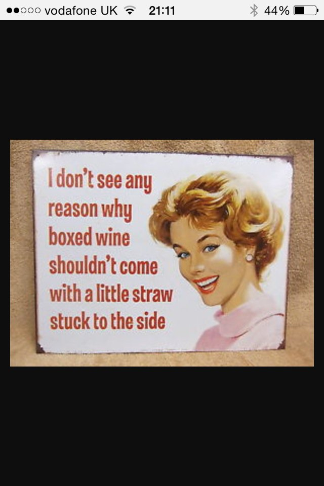 Genius!! I don't see why either MT @CathSwindells #boxedwine #portable #nospills #noshortage #wine #loveit https://t.co/CMMcIo8frC