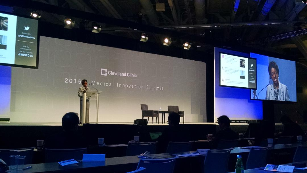"""The communities we aim to serve need to know that they're part of the solution"" - MC #MIS2015 @CCInnovations https://t.co/leLI3XQ4Bk"