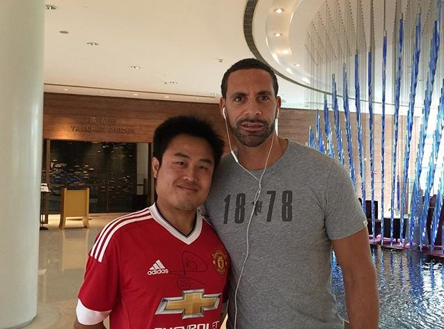 Having top time in #China meeting some passionate football fans!! https://t.co/bCQzFUQTDf