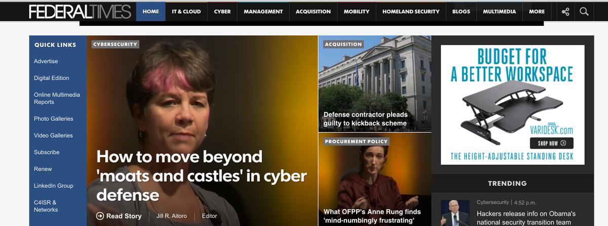 NASA CIO Renee Wynn on the need to move past cyber Band-Aids @FederalTimes @ACTIAC #ELC2015 https://t.co/6b58nB1HI9