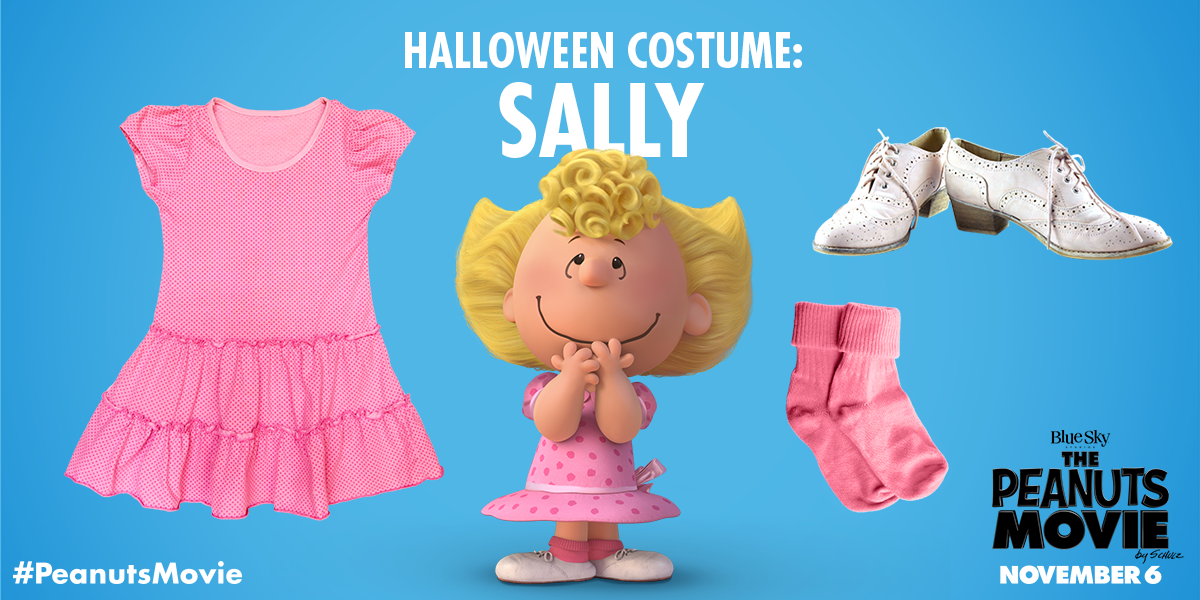 the peanuts movie on twitter think pink who is going as sally this halloween httpstcotrswcsrywr