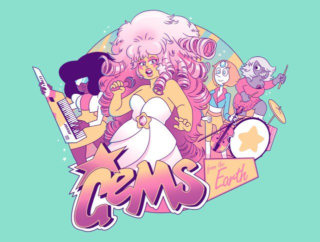 Gems From The Earth T-Shirt - https://t.co/wVHm2rPT3U Steven Universe T-Shirt by @AmandaFlagg for just $11! https://t.co/zprqxSyXK2
