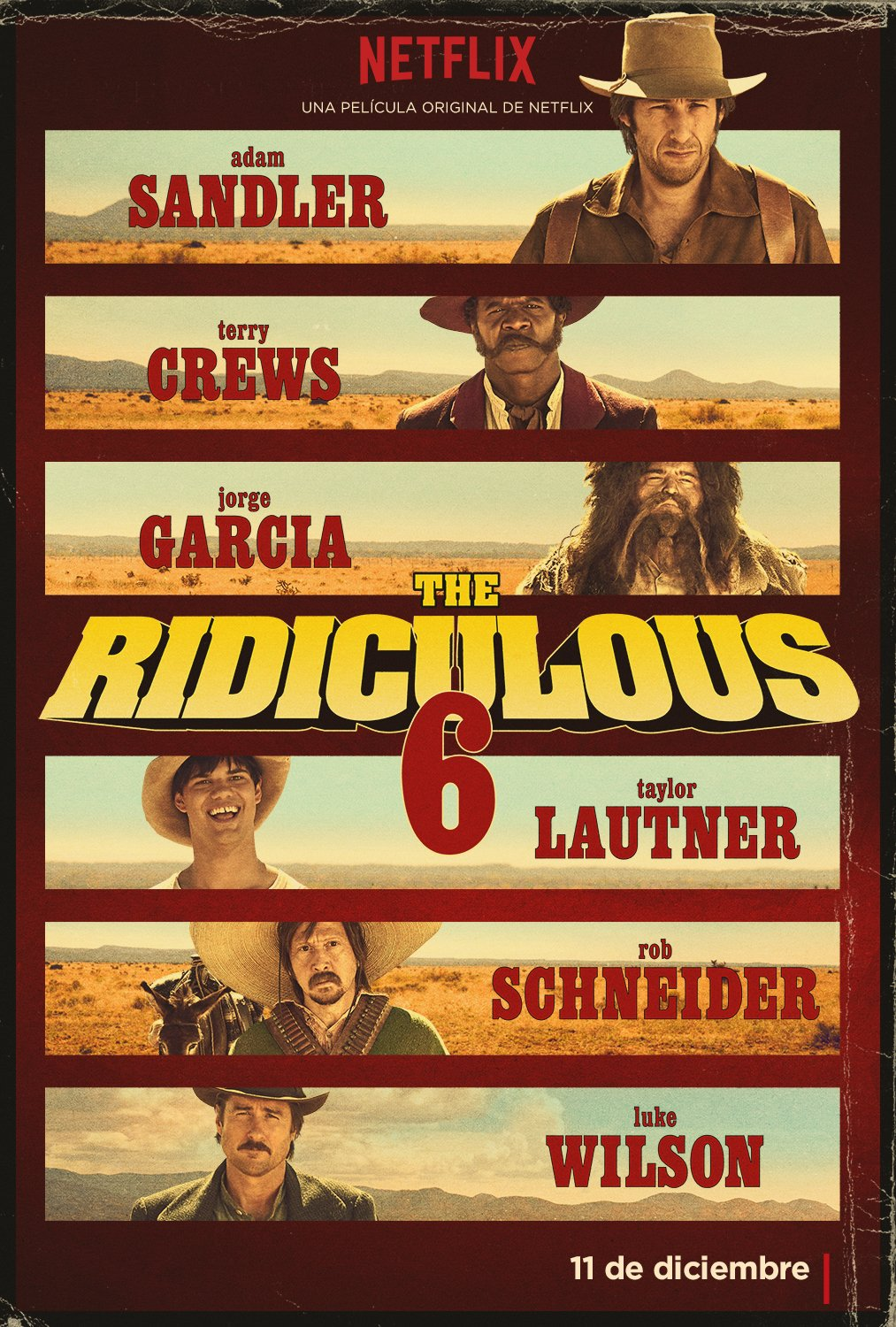 Los 6 ridículos | The Ridiculous 6 ()