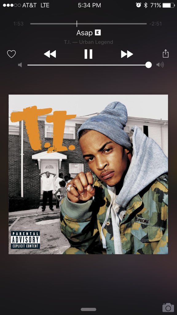 Still an anthem. Salute to the King. @Tip https://t.co/OLrHE9QNUW