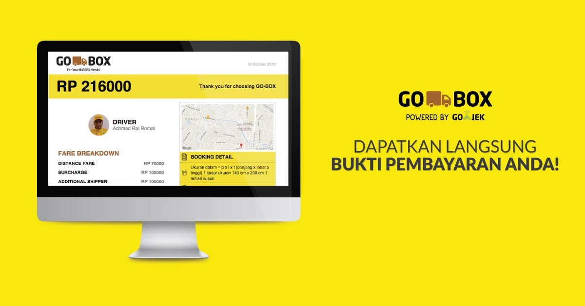 Gojek Indonesia On Twitter Klik Tombol Send Invoice