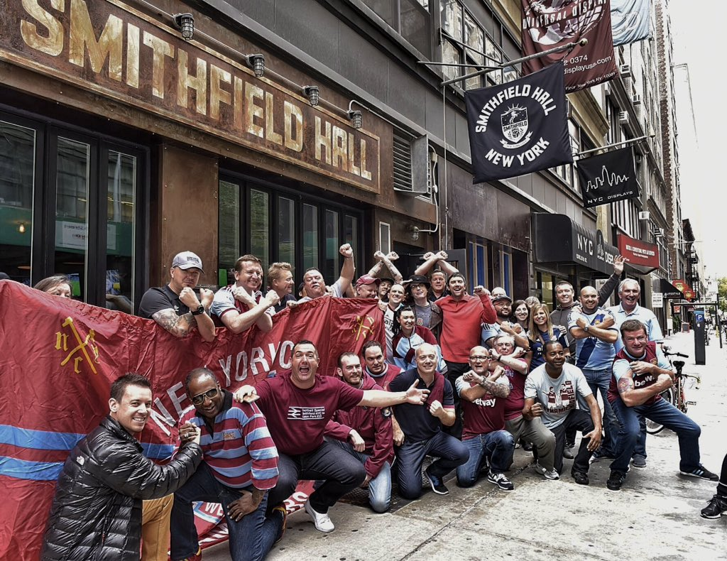 A Hammers Pub in New York. That's hard to top. ⚒COYI⚒ https://t.co/4gdbpy8cEJ
