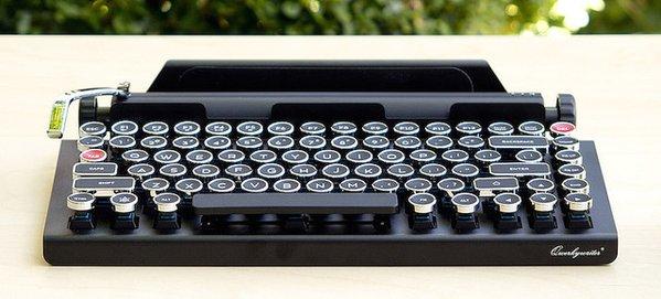 1000RT:【何これほしい】タイプライター風ワイヤレスキーボードが素敵すぎる