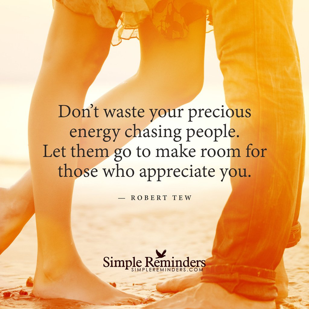 Make room for those who appreciate you #Quotes #SR https://t.co/TAILSWcAru