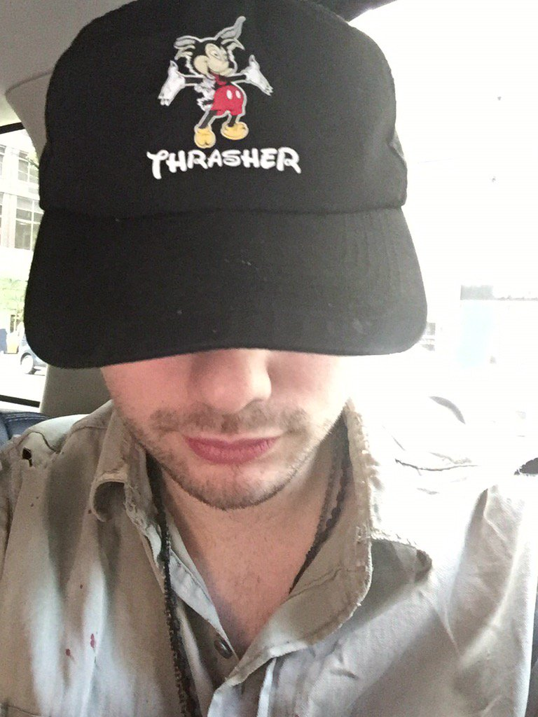 Thrasher coz Mickey knows why