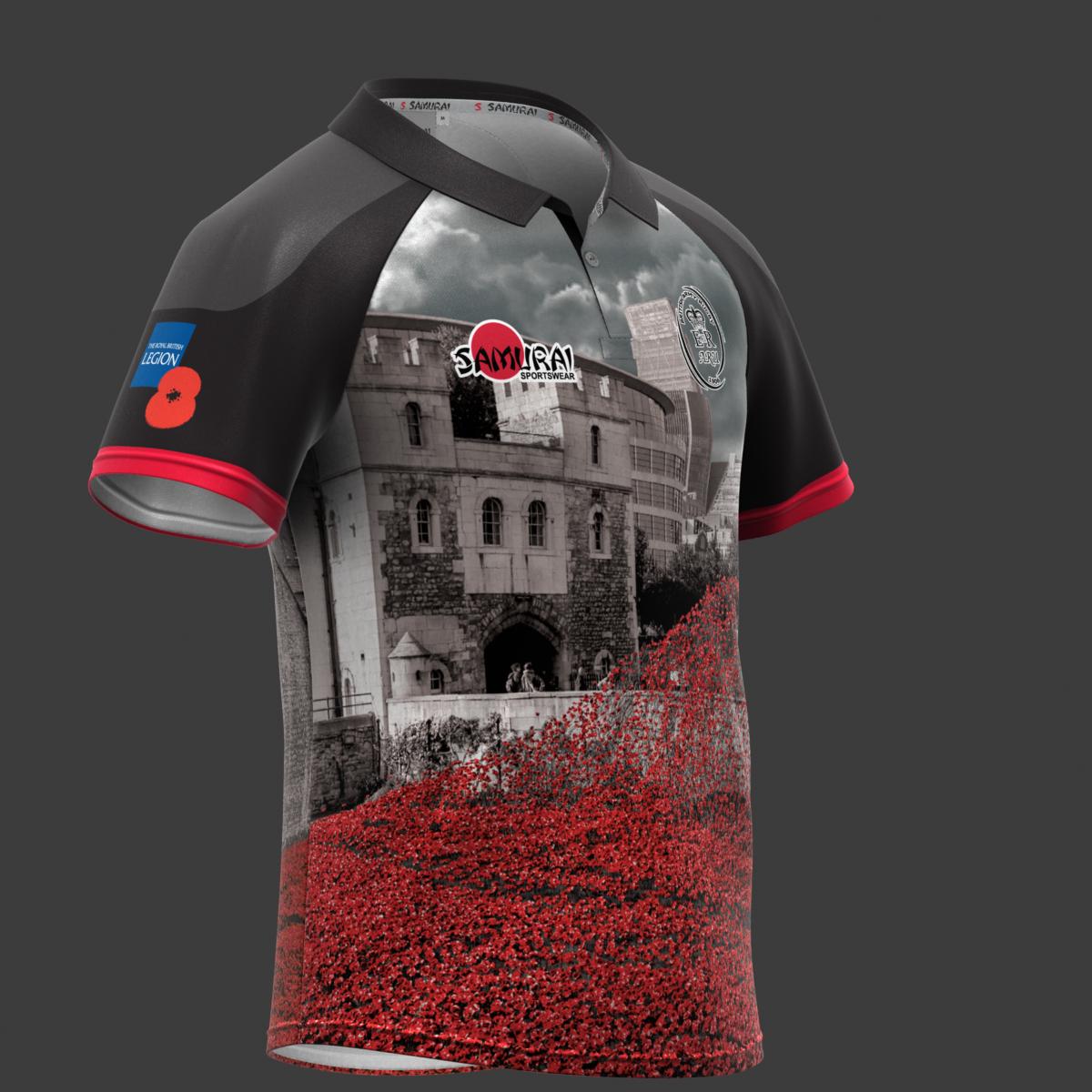 Very proud to launch our 6th annual #poppyshirt @samurai_sports 'In Flanders Fields' https://t.co/mlj4HXkPB1 https://t.co/Na72pmVrwo