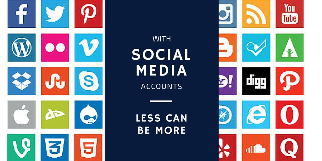 With Social Media Accounts - Less Can Be More https://t.co/FVImy0T1a7 #ismarketing https://t.co/qoyfhCNOCZ