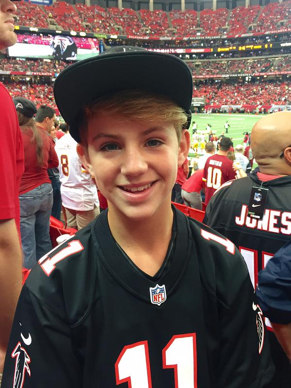 Atlanta falcons on twitter quot at halftime mattybraps will take the