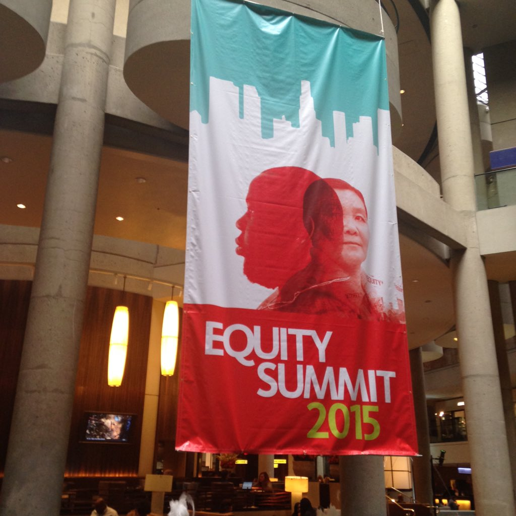 Checking into the policy link equity summit with GMF friends and 3000 colleagues from across country!#Equity15 https://t.co/OjsgFErU8T