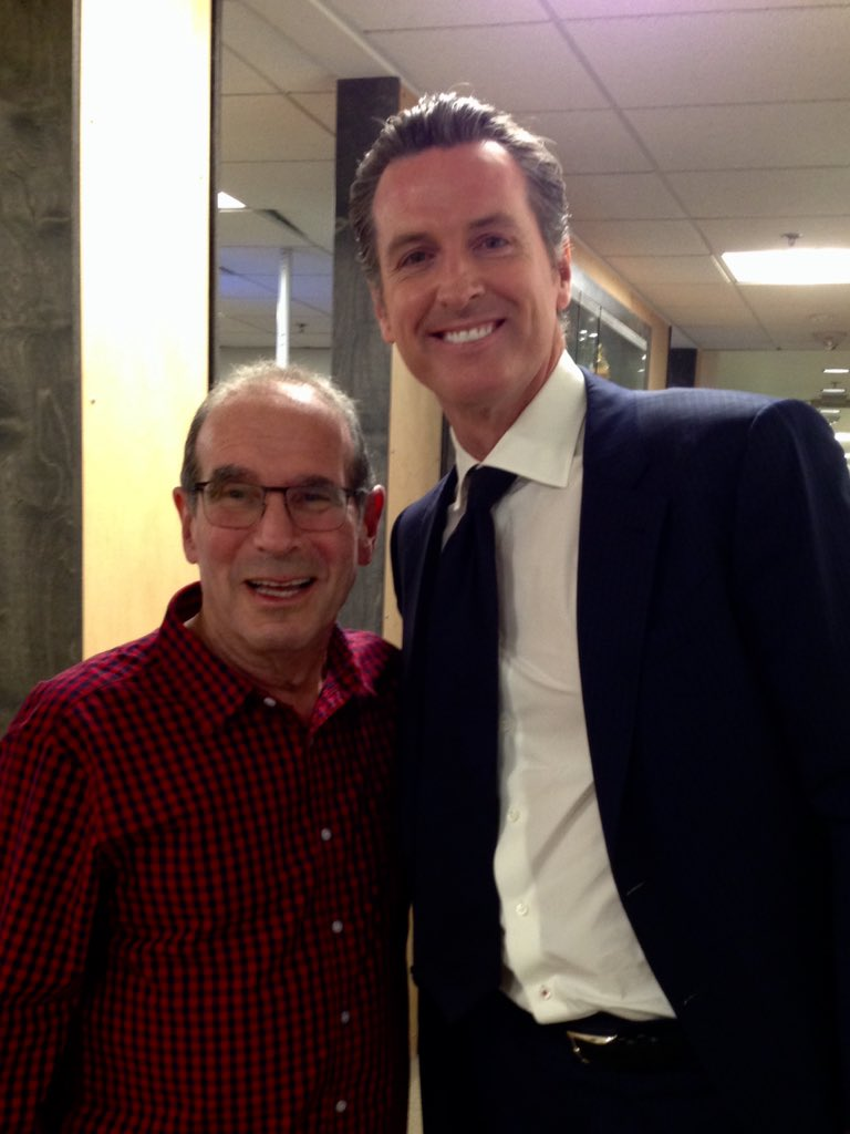 """KGO 810 on Twitter: """"Ronn Owens 40th Anniversary with KGO! Thrilled to have Gavin  Newsom on the show with Ronn @ronnowens @GavinNewsom  https://t.co/UMCpFUNjZx"""""""