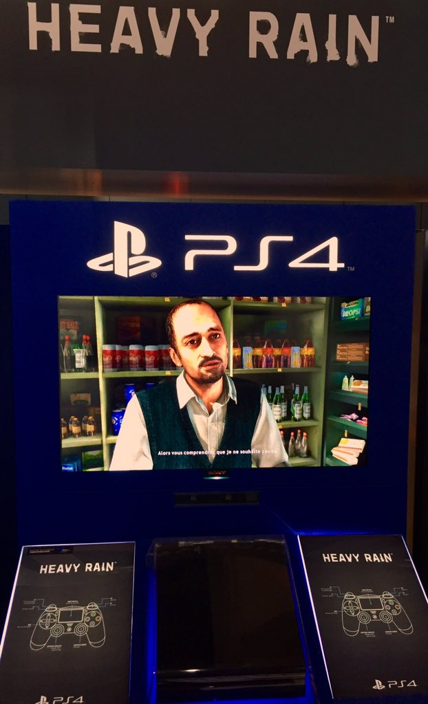 Heavy Rain & Beyond:Two Souls PS4 Playable At Paris Games Week 1