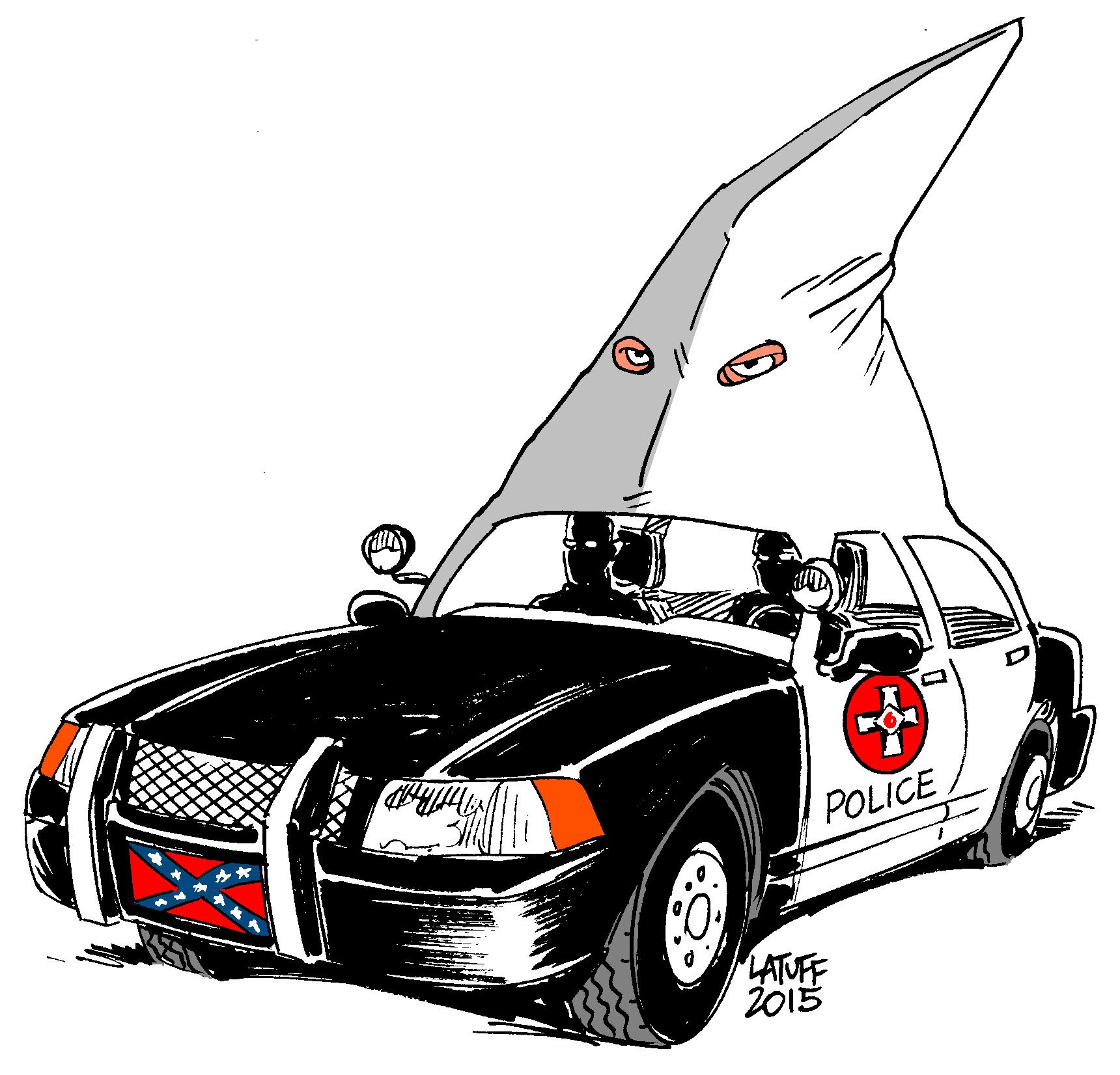 "Carlos Latuff On Twitter: ""Cartoon Of The Day: U.S. Police"
