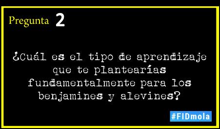 vamos con la segunda pregunta #FIDmola (vamos muy bien) ;-) https://t.co/1FYW3rv42g