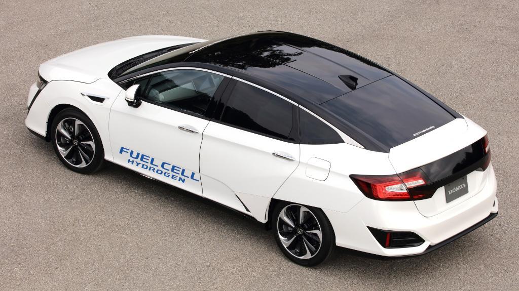 Honda's new hydrogen-powered vehicle really feels like a leap forward: onforb.es/1Mq1Sx5
