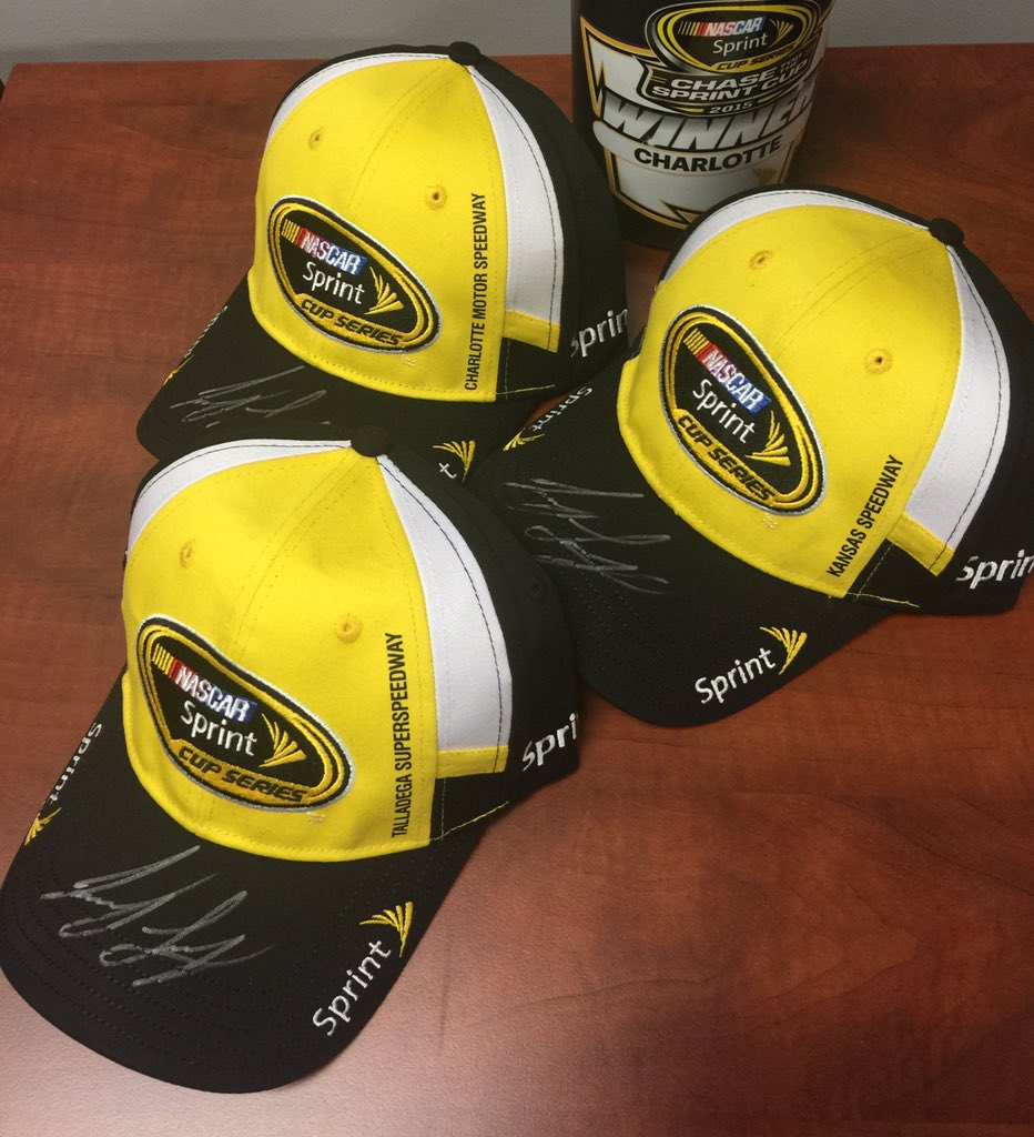 GIVEAWAY - RT for a chance to win my 3 signed Victory Lane hats from the Contender Round Sweep! #NASCARHatTrick https://t.co/S5Uk53RPmG
