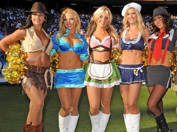 Halloween Costumes Nfl Cheerleader Halloween Costumes