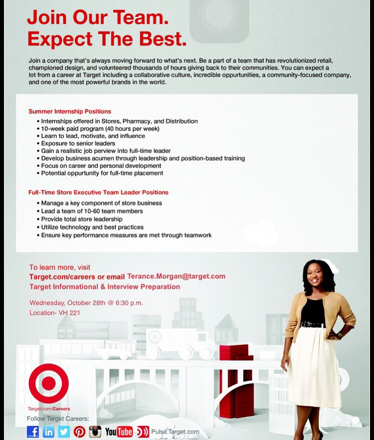 target executive team leader