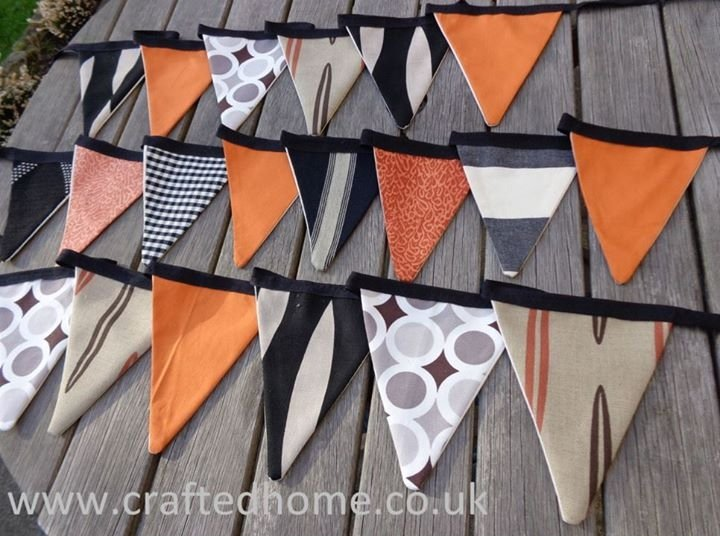 Halloween bunting suitable for any season, all year #folksyhour https://t.co/sE63XcK1RB