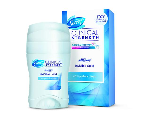 FREE Secret Clinical Strength.
