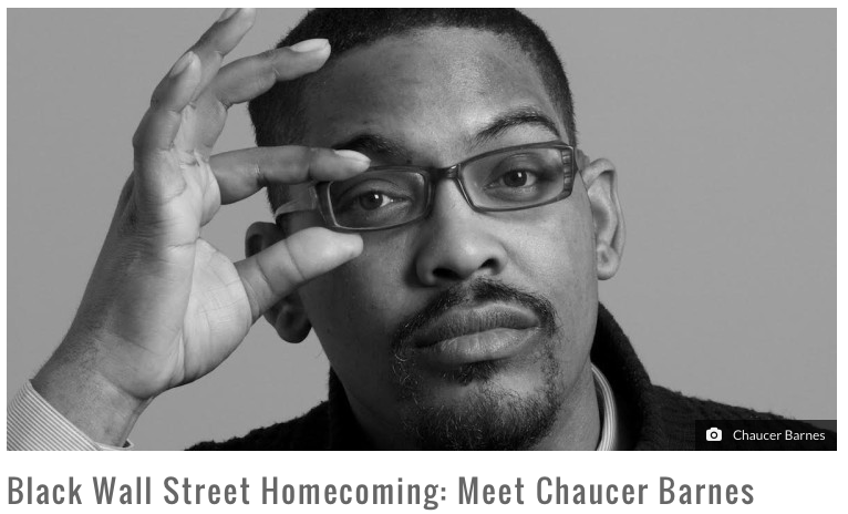 Black Wall Street Homecoming: Meet @chocchauce - Chaucer Barnes  https://t.co/tcJ3ikXEf6 via @artsnownc https://t.co/3FrOtM2g6V